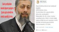 Gerici profesörden skandal deprem paylaşımı: Çocuk yaşta evlendirme tecavüz sayıldığı içinmiş…
