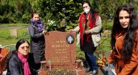 Anneler Günü'nde Alevi Mezarlığına anlamlı ziyaret.