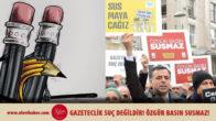 Gazetecilerin cezaevinde olmadığı bir Türkiye istiyoruz