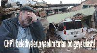 CHP'li belediyelerin yardım tırları bölgeye ulaştı
